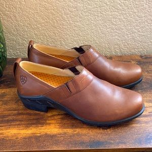 Ariat leather western booties
